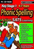 Action SATS Learning: Key Stage 1 4-7 Years: Phonic Spelling Windows Front Cover