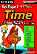 Action SATS Learning: Key Stage 1 4-7 Years: Time Windows Front Cover