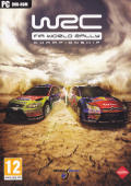 WRC FIA World Rally Championship Windows Front Cover