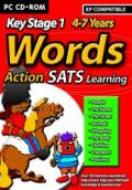 Action SATS Learning: Key Stage 1 4-7 Years: Words Windows Front Cover