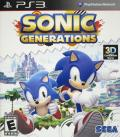 Sonic: Generations PlayStation 3 Front Cover