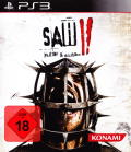 Saw II: Flesh & Blood PlayStation 3 Front Cover