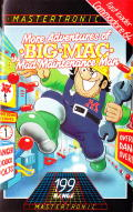More Adventures of Big Mac: The Mad Maintenance Man Commodore 64 Front Cover