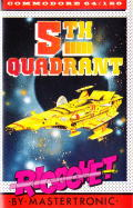 The Fifth Quadrant Commodore 64 Front Cover
