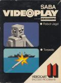 Videocart-13: Robot War, Torpedo Alley Channel F Front Cover