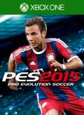 PES 2015: Pro Evolution Soccer Xbox One Front Cover