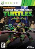 Teenage Mutant Ninja Turtles Xbox 360 Front Cover