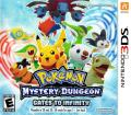 Pokémon: Mystery Dungeon - Gates to Infinity Nintendo 3DS Front Cover