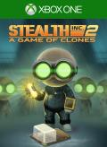 Stealth Inc. 2: A Game of Clones Xbox One Front Cover 1st version