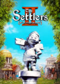 The Settlers II: 10th Anniversary Windows Front Cover 1st version