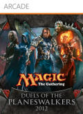Magic: The Gathering - Duels of the Planeswalkers 2012 Xbox 360 Front Cover first version