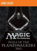 Magic: The Gathering - Duels of the Planeswalkers 2013 Xbox 360 Front Cover