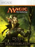 Magic: The Gathering - Duels of the Planeswalkers Xbox 360 Front Cover first version