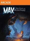 Max: The Curse of Brotherhood Xbox 360 Front Cover