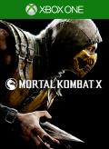 Mortal Kombat X Xbox One Front Cover