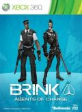 Brink: Agents of Change Xbox 360 Front Cover