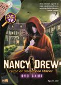 Nancy Drew: Curse of Blackmoor Manor DVD Player Front Cover