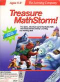 Treasure MathStorm! DOS Front Cover