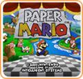Paper Mario Wii U Front Cover
