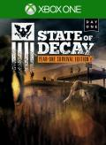 State of Decay: Year-One Survival Edition - Day One Xbox One Front Cover