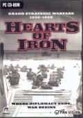 Hearts of Iron Windows Front Cover