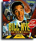 Bill Nye: The Science Guy - Stop the Rock! Macintosh Front Cover