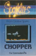 Chopper Commodore 64 Front Cover