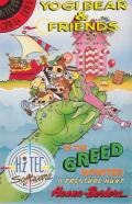 Yogi Bear & Friends in the Greed Monster: A Treasure Hunt Commodore 64 Front Cover