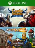CastleStorm: Definitive Edition / Pinball FX 2: Iron & Steel Pack Xbox One Front Cover