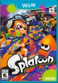 Splatoon Wii U Front Cover