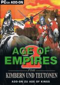 Age of Empires 2: Von Kimbern und Teutonen Windows Front Cover