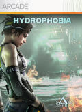 Hydrophobia Xbox 360 Front Cover first version