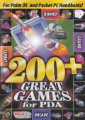 200+ Great Games for PDA Palm OS Front Cover