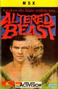 Altered Beast MSX Front Cover
