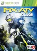 MX vs. ATV Alive Xbox 360 Front Cover