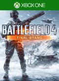 Battlefield 4: Final Stand Xbox One Front Cover 1st version