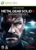 Metal Gear Solid V: Ground Zeroes Xbox 360 Front Cover