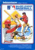 Major League Baseball Intellivision Front Cover