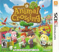 Animal Crossing: New Leaf Nintendo 3DS Front Cover