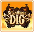 SteamWorld Dig: A Fistful of Dirt Nintendo 3DS Front Cover