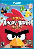Angry Birds Trilogy Wii U Front Cover