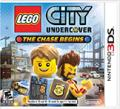 LEGO City Undercover: The Chase Begins Nintendo 3DS Front Cover