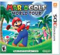 Mario Golf: World Tour Nintendo 3DS Front Cover