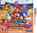 Mario & Sonic at the London 2012 Olympic Games Nintendo 3DS Front Cover