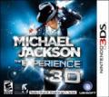 Michael Jackson: The Experience 3D Nintendo 3DS Front Cover