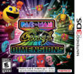 Pac-Man & Galaga Dimensions Nintendo 3DS Front Cover