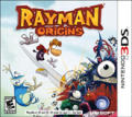 Rayman Origins Nintendo 3DS Front Cover