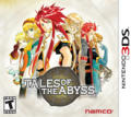 Tales of the Abyss Nintendo 3DS Front Cover