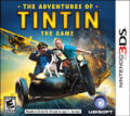 The Adventures of Tintin: The Game Nintendo 3DS Front Cover