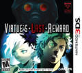 Zero Escape: Volume 2 - Virtue's Last Reward Nintendo 3DS Front Cover